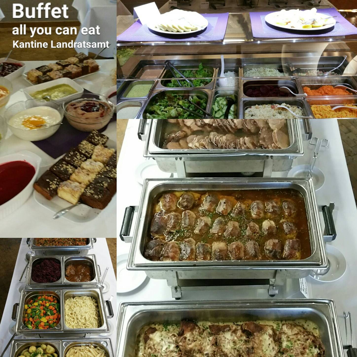 Buffet Colage